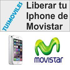LIBERAR IPHONE 6 MOVISTAR TODOS LOS MODELOS 6 PLUS 4 4S 5 5C 5S 3 3G