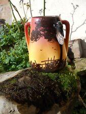 Petit vase en céramique saint jean du désert signé