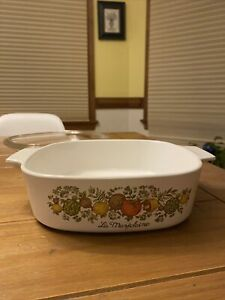 Vintage Corning Ware Spice Of Life La Marjolaine A-2-B 2 Quart Dish SEE STAMPS!