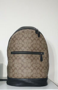 COACH Men's Monogram Backpack