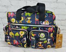 NWT Likekid Kawaii Purse Shoulder Bag Crossbody Jungle Animals Nylon