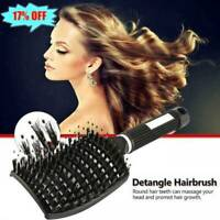 Detangling Nylon Brush Detangle Hairbrush Women Hair Scalp Massage Combs Brushs
