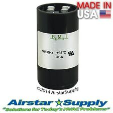 25-30 MFD uf 220-250V Round AC Electric Motor Start Capacitor • Made in USA