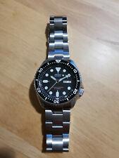 Seiko SKX007J automatic diver, bracelet strap
