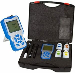 0.1 mg//L Resolution Dissolved Oxygen Detector with Electrode Filling Fluid RCYAGO Portable Dissolved Oxygen and Temperature Meter 0-40.00 mg//L Digital Dissolved Oxygen Analyzer