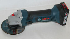 Bosch GWS 18-125 V-Li Professional Akku-Winkelschleifer mit 1 Akku