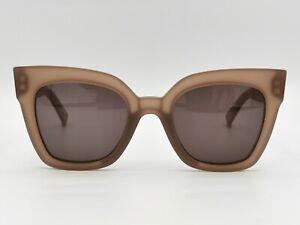 Max Mara Prism IV Sunglasses Bold Square Pink Peach Oversized