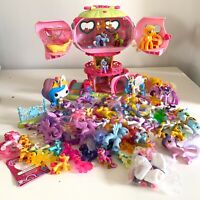 Mixed Lot of 67 - My Little Pony MLP Mini Figures Lot PLUS Tree House -