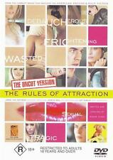 THE RULES OF ATTRACTION (THE UNCUT VERSION) **NEW & SEALED** DVD R4 (RARE)
