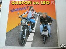 LP RECORD VINYL HONDA MOTOCOMPO MOPED COVER GASTON EN LEO NIMEMAAI PHILIPS 1982