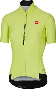 Castelli Women's Gabba Short Sleeve Jersey Sunny Lime Size Small