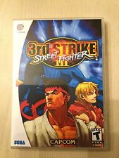Replacement Case (NO GAME) Street Fighter III 3rd Strike - Sega Dreamcast