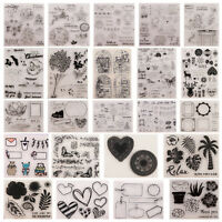 Christmas Series Various Silicone Transparent Clear Stamp Scrapbooking DIY Craft