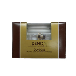 Brand New Denon DL-301II 0.4mV Low Output MC cartridge, 100% Made in Japan