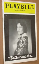 THE INNOCENTS 1976 Morosco Theatre Playbill NYC - Sarah Jessica Parker (Debut)