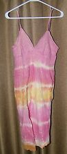 Women's Pink and orange etc. Brand Sun Dress NWT Size M