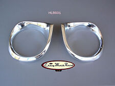 62 63 64 CHEVY II NOVA HEADLAMP BEZEL PAIR BEZELS