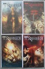 THE SQUIDDER #1-4 SET..BEN TEMPLESMITH..IDW 2014 1ST PRINT..VFN+