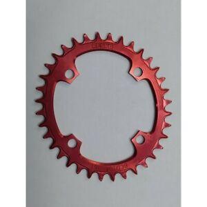 Chainrings RESKO oval 104 BCD (aluminium 7075, CNC machined)
