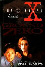 "KEVIN J. ANDERSON - ""THE X FILES - GROUND ZERO"" - 1st UK HARPER COLLINS (1995)"