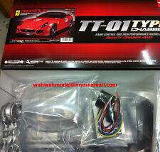 Tamiya 58510 1/10 RC Ferrari 599XX (TT-01E) w/ESC