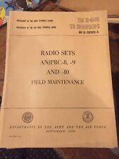 TM 11-290 RT-70 RT-70A Radio Field Maintenance Technical Manual