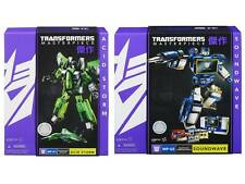TRANSFORMERS MASTERPIECE MP-01 ACID STORM & MP-02 SOUNDWAVE MISB SEALED NEW