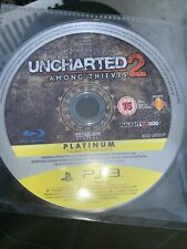 Uncharted 2: Among Thieves Platinum Edition - DISC ONLY - (Sony Playstation 3)