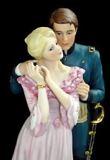 Vintage Lenox 1987 Farewell, My Love Hand Painted 24k Fine Porcelain Sculpture