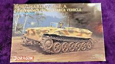 Dragon 6101 1:35 Borgward IV Ausf.A Heavy Demolition Charge Vehicle Model Kit