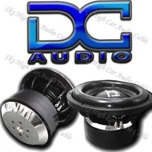 """DC AUDIO XL 12"""" 1 ohm Dual Voice Coil Subwoofer 2200/4400 Watt NEW"""