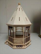 Large Victorian Gazebo 1:24 scale Dollhouse Kit