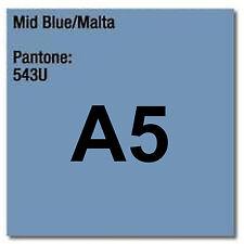 80 gsm A5 Coloraction printer & photocopier paper x 500 sheets MID BLUE MALTA