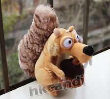 20CM Lovely ICE AGE male Squirrel Scrat Stuffed ANIMALS plush dolls kids TOY NEW