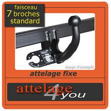 Attelage fixes pour Citroen C4 Hayon 2004-2010 faisceau Spécifique 7 broches
