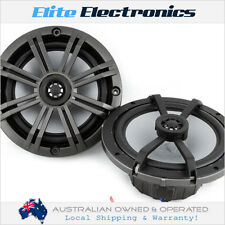 "KICKER 41KM652C KM SERIES 6.5"" 2-WAY 195W MAX MARINE COAXIAL SPEAKERS 6-1/2"""