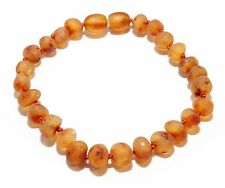Baltic Amber Bracelet for Adult with Screw Clasp Genuine Amber Bracelet