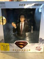 LEX LUTHOR Bust Superman Returns Movie DC Direct 112230 Best Buy Exclusive NIB