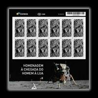 Apollo 11 flight - footprint on the Moon - Lunar Landing Mission Brasil 2019