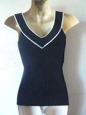 Noir & Blanc Haut Sans Manches Taille UK M CONEX par PROMOD livraison gratuite