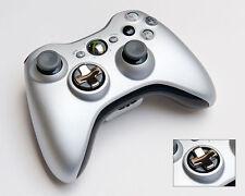 Rare Genuine Microsoft Special Edition Silver Controller Gamepad For XBOX 360