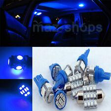 12V Blue Interior LED Light Package 6PCS Kit Fit KIA Spectra5 KP1B 2005-2013