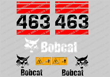 BOBCAT 463 SKID STEER DECAL STICKER SET