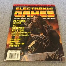 Electronic Games Premiere Issue October 1992 Volume 1 Issue 1- USA SHIP