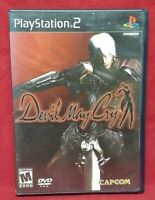 Devil May Cry Black Label - PS2 PlayStation 2 - 1 Owner Near Mint Disc Capcom