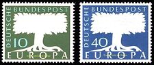 EBS Germany 1957 EUROPA Michel 268-269 MNH**