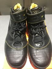 Nike Zoom Kobe II 2 Carpe Diem Size 11 .5 Black Maize Playoffs 2007 316022-001
