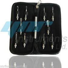 10pcs Blackhead Comedone Acne Pimple Blemish Extractor Remover Tool Kit Set UK