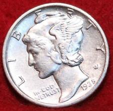 Uncirculated 1935-S San Francisco Mint Silver Mercury Dime