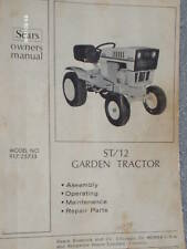 917.25733- Sears Suburban ST/12 Tractor Owners Manual on CD